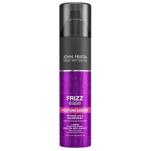 John Frieda Лак для волос Frizz ease Moisture barrier, экстрасильная фиксация, 250 мл john frieda кондиционер для гладкости волос против влажности frizz ease forever smooth 250 мл