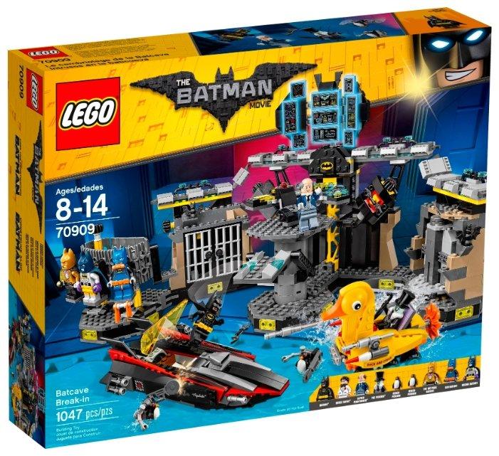 Конструктор LEGO The Batman Movie 70909 Взлом Бэтпещеры — купить по выгодной цене на Яндекс.Маркете