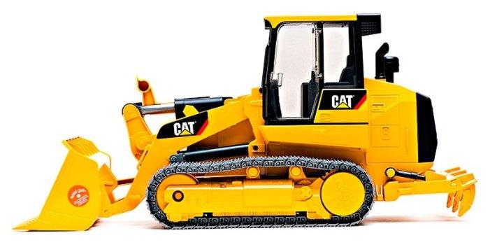 Погрузчик гусеничный Bruder CAT с ковшом (02-447)