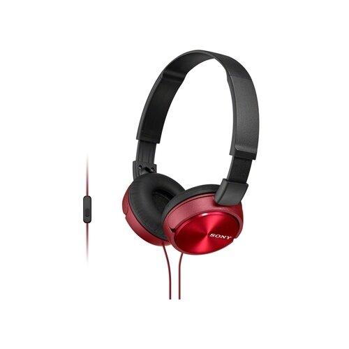 Купить Наушники Sony MDR-ZX310AP красный