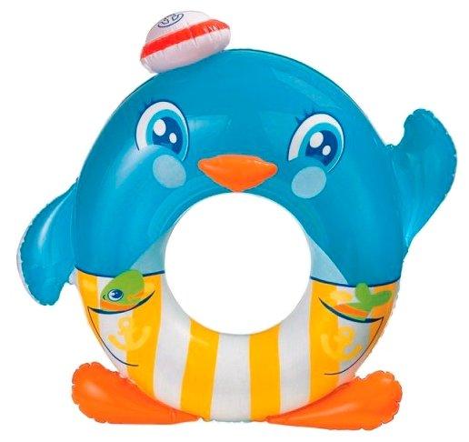 Надувной круг Intex Пингвин 59217