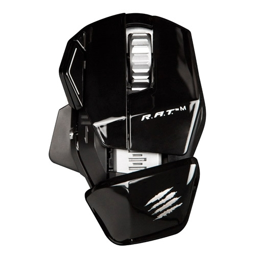 Мышь Mad Catz R.A.T.M WIRELESS MOBILE GAMING MOUSE GLOSS Black USB
