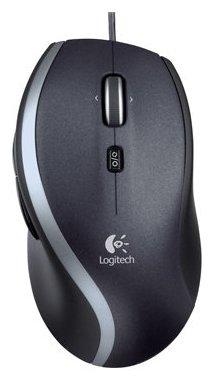 Мышь Logitech Corded Mouse M500 Black USB