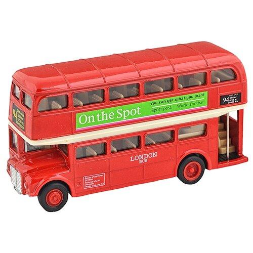 Купить Автобус Welly London Bus (99930) красный, Машинки и техника