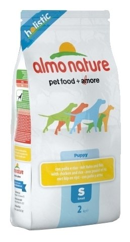 Корм для собак Almo Nature Holistic Small Puppy Chicken and Rice