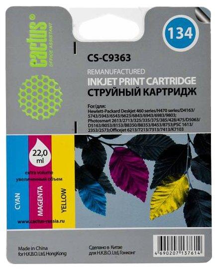 Картридж cactus CS-C9363 134, совместимый — купить по выгодной цене на Яндекс.Маркете
