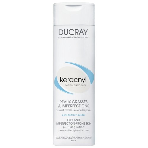 Ducray Keracnyl Очищающий лосьон Lotion purifiante, 200 млДля проблемной кожи<br>