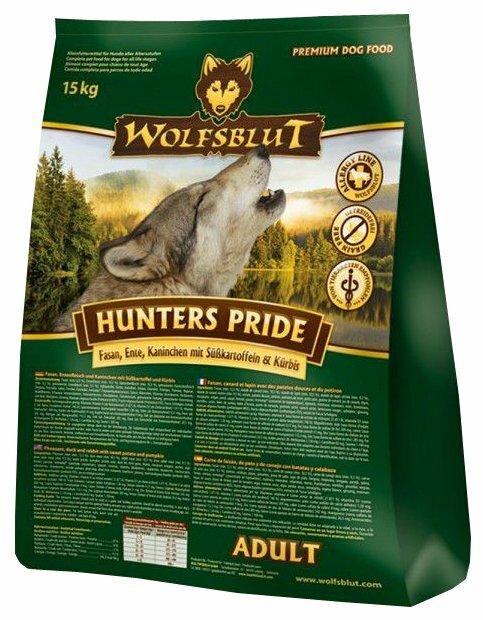 Корм для собак Wolfsblut Hunters Pride Adult (15 кг)