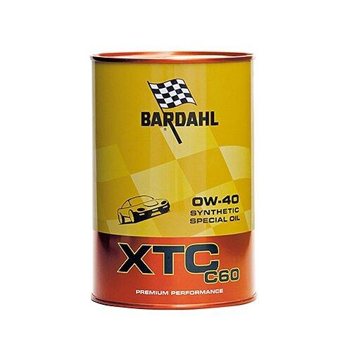 Фото - Синтетическое моторное масло Bardahl XTC C60 0W-40, 1 л синтетическое моторное масло bardahl xtc c60 off road 10w 40 1 л