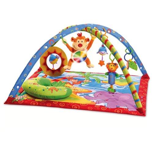 Купить Развивающий коврик Tiny Love Остров поющей обезьянки (1201076581), Развивающие коврики