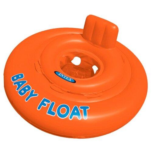 Купить Надувные водные ходунки Intex Baby Float 56588 оранжевый, Надувные игрушки