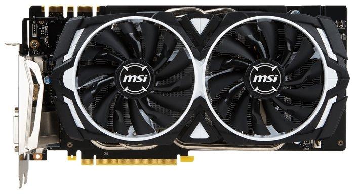 MSI Видеокарта MSI GeForce GTX 1070 Ti 1607MHz PCI-E 3.0 8192MB 8008MHz 256 bit DVI HDMI HDCP Armor