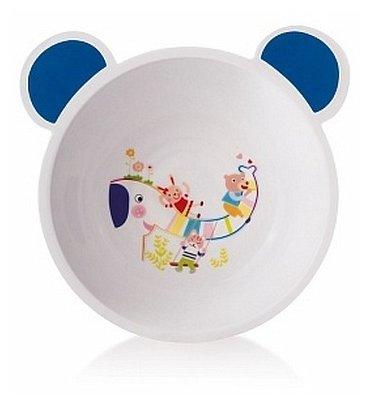 Тарелка Canpol Babies пластиковая с ушками (4/415)