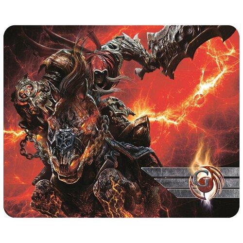 Коврик Dialog PGK-03 Warrior черный/красный/коричневый/серый