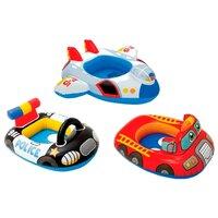 Надувной круг Машинка Intex (Интекс) Kiddie Floats, красный (59586)