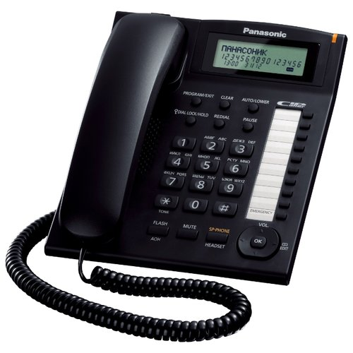 Телефон Panasonic KX-TS2388 черный