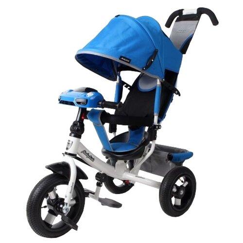 Трехколесный велосипед Moby Kids Comfort 12x10 AIR Car 2 синий