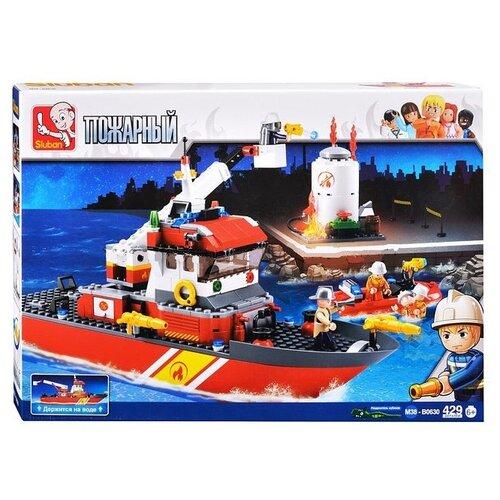 Конструктор SLUBAN Пожарные спасатели M38-B0630 конструктор sluban пожарный m38 b0226