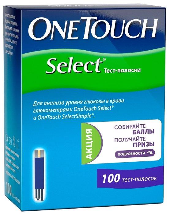 OneTouch тест-полоски Seleсt