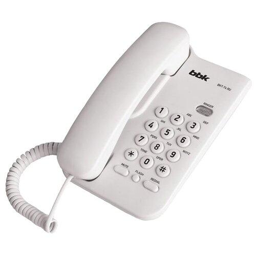 Купить Телефон BBK BKT-74 RU белый