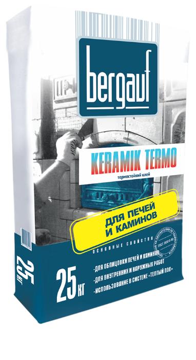 Клей Bergauf Keramik Termo 25 кг