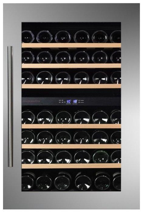 Встраиваемый винный шкаф Dunavox DAB-42.117DSS