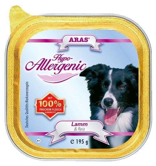 ARAS (0.195 кг) 1 шт. Hypo-Allergenic для собак - Баранина и рис