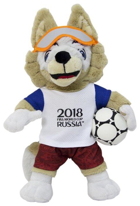 Мягкая игрушка 1 TOY FIFA-2018 Волк Забивака 28 см