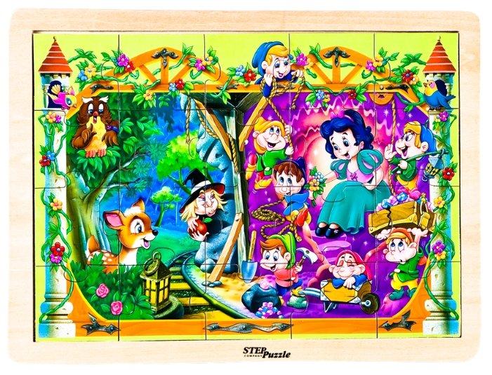 Рамка-вкладыш Step puzzle Любимые сказки Белоснежка (89712), 20 дет.