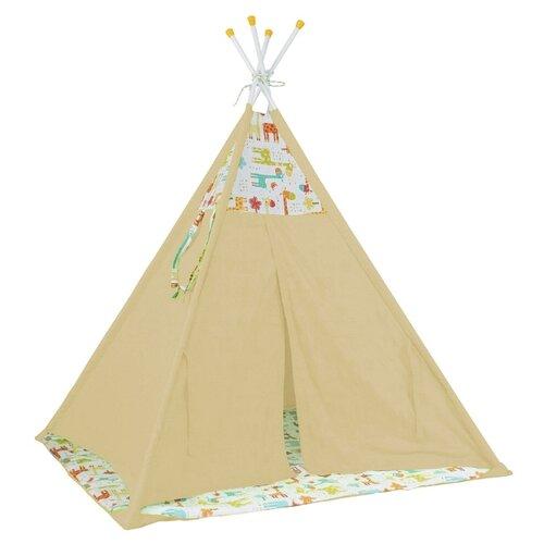 Купить Палатка Polini Жираф желтый, Игровые домики и палатки