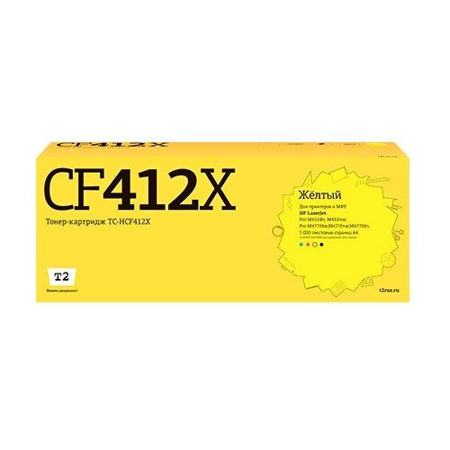 Фото - Картридж T2 TC-HCF412X, совместимый картридж t2 tc sh202 совместимый