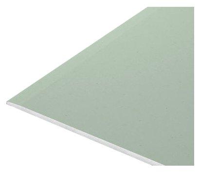 Гипсокартон Кнауф влагостойкий 2500х1200х9,5мм потолочный