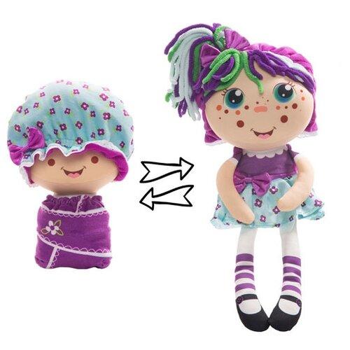 Купить Мягкая игрушка 1 TOY Девчушка-вывернушка Варюшка 38 см, Мягкие игрушки