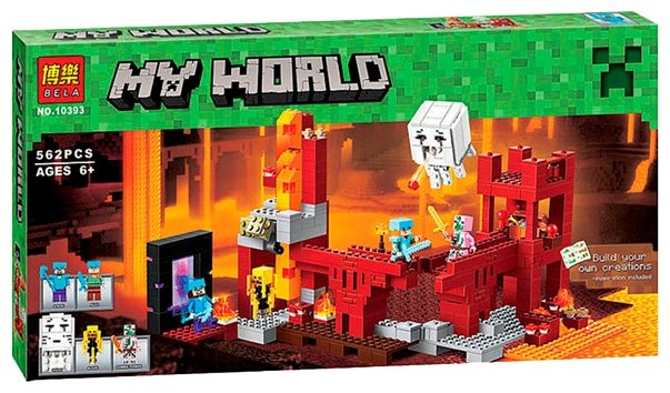 Конструктор BELA (Lari) My World 10393 Подземная крепость