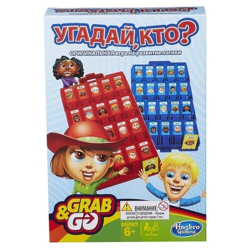 Купить Настольная игра Hasbro Игры Угадай, кто? Дорожная версия B1204, Настольные игры