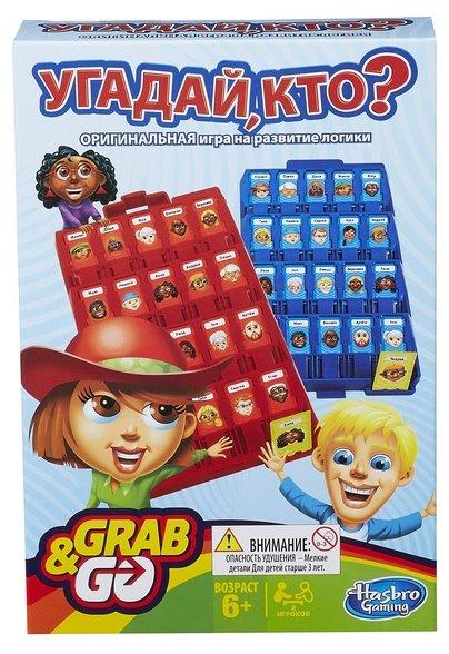 Настольная игра Hasbro games Угадай, кто? Дорожная версия B1204