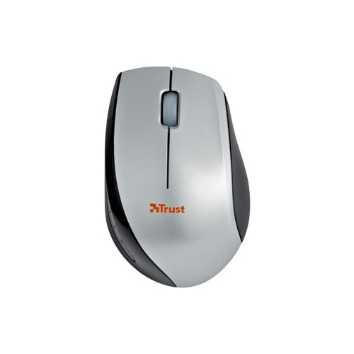 Мышь Trust Isotto Wireless Mini Mouse Silver USB