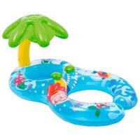 Надувной детский круг-ходунки с навесом Intex 56590 Мой первый круг для плавания