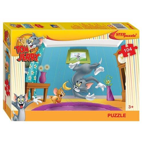 Купить Пазл Step puzzle Уорнер Браз Том и Джерри (82165), 104 дет., Пазлы