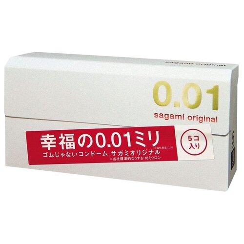 цена на Презервативы Sagami Original 0.01 (5 шт.)
