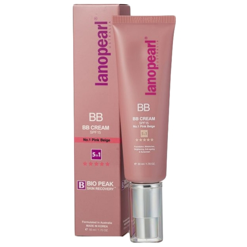 Lanopearl BB крем 5 в 1 SPF15 50 мл