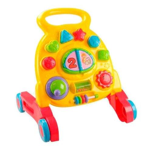 Каталка-игрушка PlayGo My First Steps Activity Walker (2252) со звуковыми эффектами желтый/красный