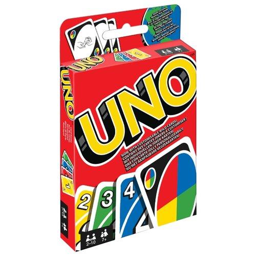 Купить Настольная игра Mattel Uno Дисплей W2087, Настольные игры