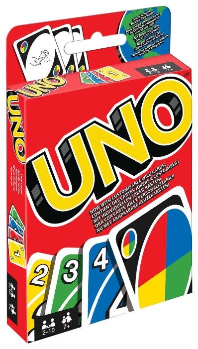 Настольная игра Mattel Uno Дисплей W2087
