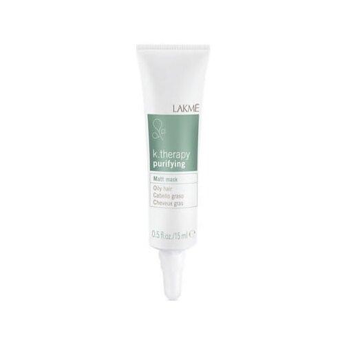 Lakme K-Therapy Purifying Маска для жирных волос с матирующим эффектом, 15 мл, 6 шт.