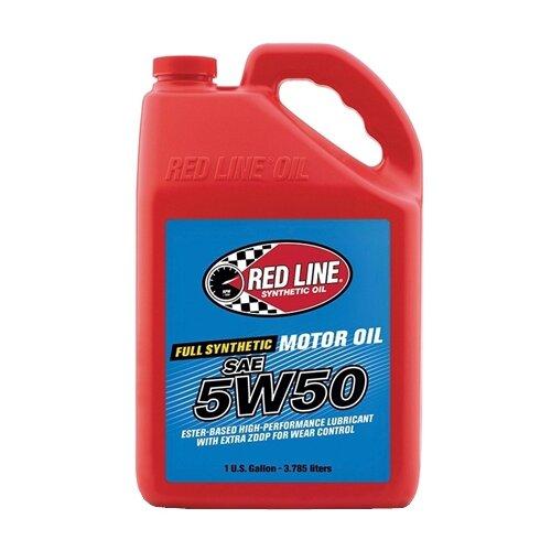 Синтетическое моторное масло RED LINE 5W50, 3.785 л