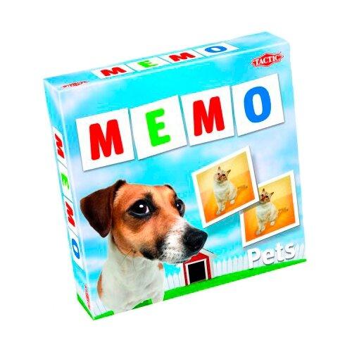 Настольная игра TACTIC Мемо: Домашние питомцы шпаргалки для мамы настольная игра мемо 1