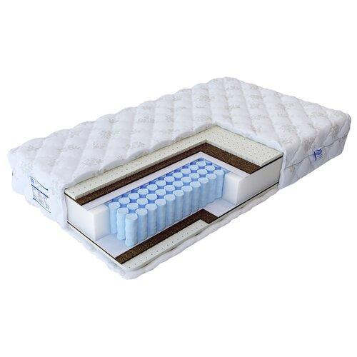цены Матрас Промтекс-Ориент Soft18 мидл 2 200x200 пружинный белый