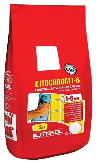Затирка Litokol Litochrom 1-6 2 кг