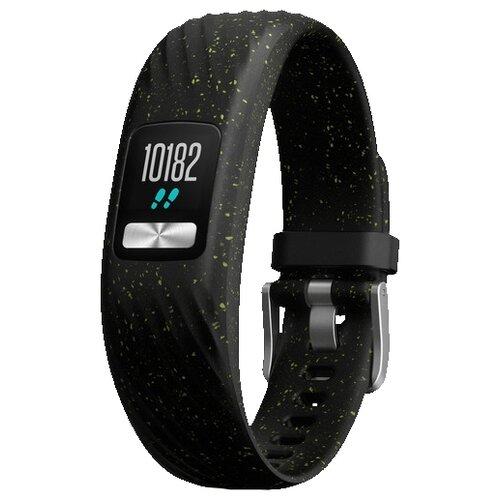 Умный браслет Garmin Vivofit 4 черный с блестками стандартный